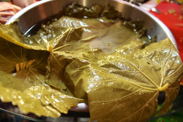 Raw Grapeleaves