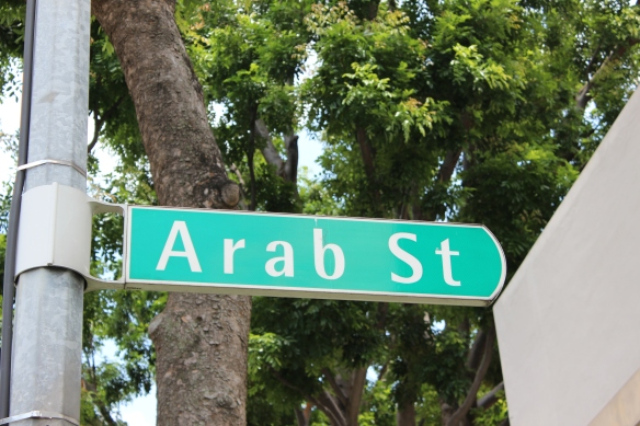Arab St Sign