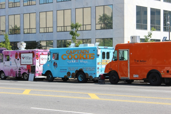 Cookie Truck closeup
