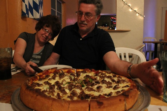 Pizza and Parents