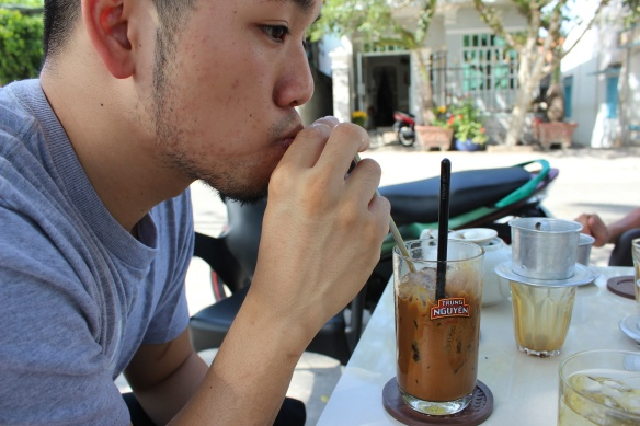 Trung and Coffee