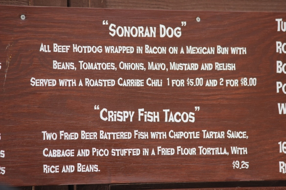 Sonoran Dog Sign